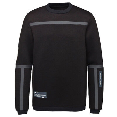 Puma X UEG Crew Sweater Mens Pull Over Jumper Track Top Black 571717 01 P4C