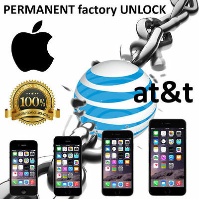 PREMIUM SPEED FACTORY UNLOCK SERVICE AT&T APPLE IPHONE 7 SE 6S 6 5S 5C 5 4S 3GS