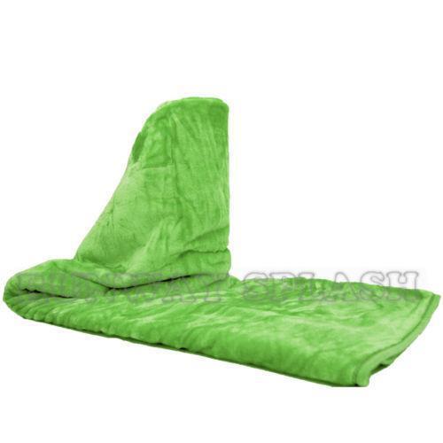 lime green throw blanket ebay. Black Bedroom Furniture Sets. Home Design Ideas