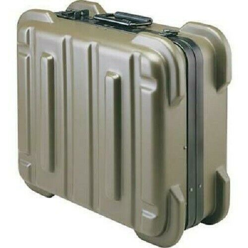 Jensen Tools 356B990 Rugged Duty Poly Case with Pallets Only (no tools) Olive