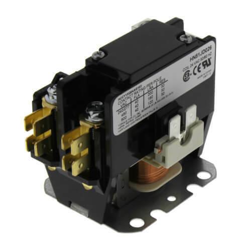 Carrier HN51JD026 - Contactor 1 Pole, 24V, 40 Amp