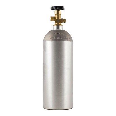 $65.00 - 5 lb CO2 Tank Aluminum Air Cylinder Draft Beer Kegerator Welding Wine Homebrew