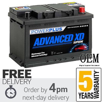 096XD+ ADVANCED Car Battery > 12V 77AH 780A - 5 YEAR WARRANTY