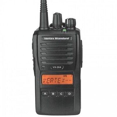 Vertex Standard Vx-264 Portable Radio G7 450-512 Mhz Uhf Brand New