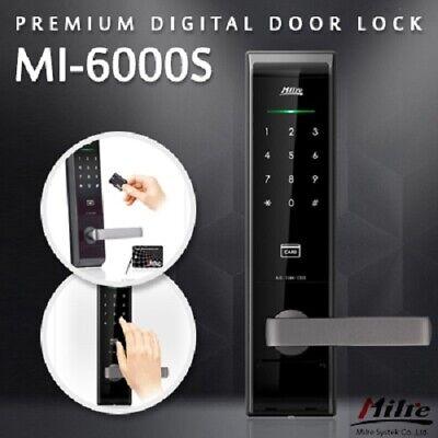 [Hwajeong Hometech] Milre MI-6000s / key / electronic doorlock / Digital doorloc