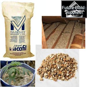 Vermiculite 100 Ltr Pack Void Medium Grade 3mm To 4mm Flue