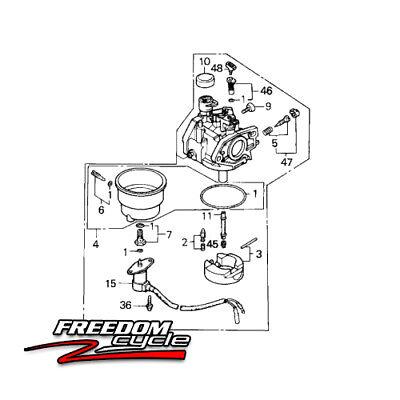 Honda Eb5000 Xk1 Em5000 Sxk1 Eb5000 Xk2 Power Generator Carburetor 16100-z5l-f12