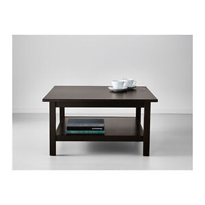 Hemnes Coffee Table - black/brown
