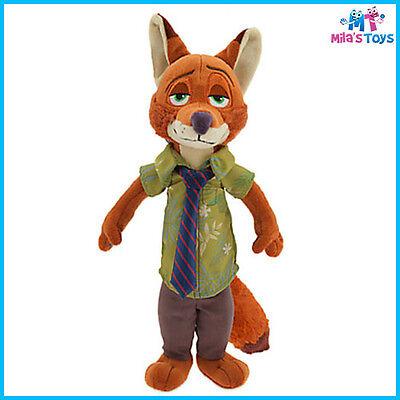 "Disney Zootopia Nick Wilde 13"" Plush Doll Toy brand new with tags"