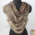 Leopard Fur Scarf