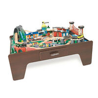"""Imaginarium """"Mountain Rock"""" train table with additional trains"""
