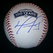 David Ortiz Signed Baseball
