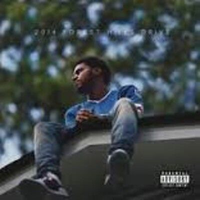J. Cole - 2014 Forest Hills Drive [New Vinyl] Explicit, Download Insert