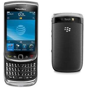 BlackBerry Torch 9800 - 4GB - Black (AT&T) Smartphone - Brand New