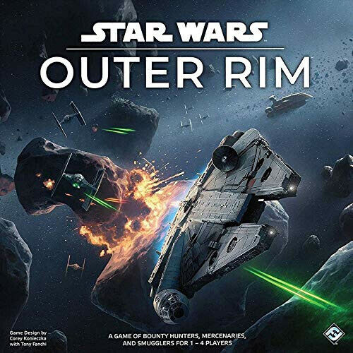 New Star Wars Outer Rim Board Game by Fantasy Flight Games