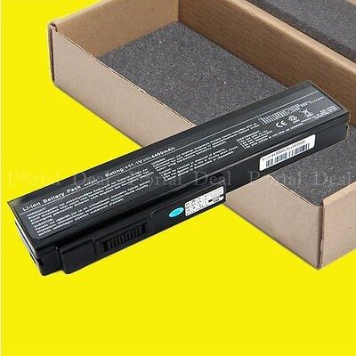 Battery For Asus G50 G51 G60 L50 Vx5 A32-n61 A32-x64 L062...