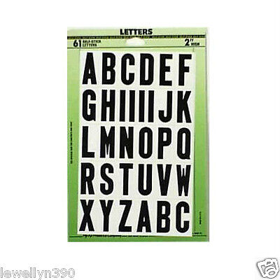 Home Decorators Promo Code Hy-Ko Self-Adhesive 61 LETTERS Black On White 2