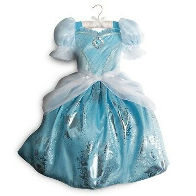 NWT Disney Store Cinderella Costume for Kids  Size 5/6,7/8