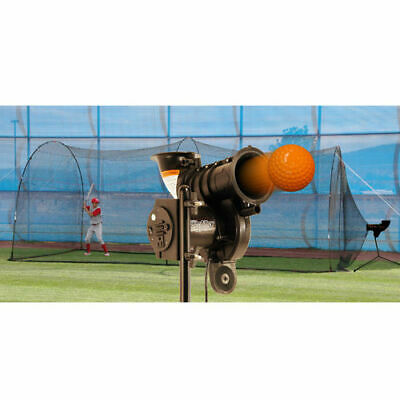 poweralley lite pitching machine and poweralley batting