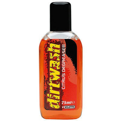 New Weldtite Dirtwash Citrus Degreaser Bike Bicycle Chain Cleaner 75ml