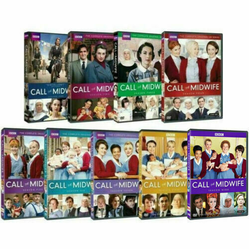Call the Midwife Complete Series Seasons 1-9 (26-Disc DVD Set)