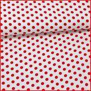 Stoff Rot Punkte