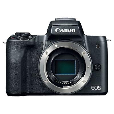 Canon EOS M50 Mirrorless 24.1MP Digital Camera Body Black