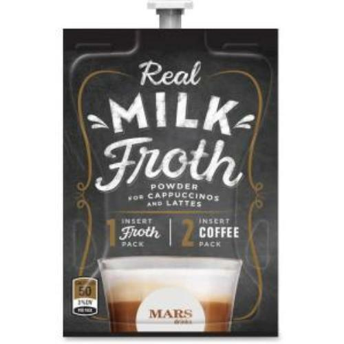 Mars Drinks Real Milk Froth Powder - 72/carton (a122)