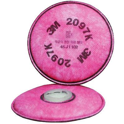 2 Pcs 3M Particulate Filter 2097 K for 6100 6200 6300 6700 6800 6900 7502 7800 i
