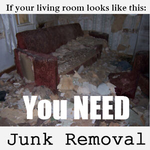 Time to get a great deal on junk removal, give us a call!