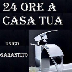 Rubinetto lavabo bidet vasca doccia a cascata muro miscelatore rubinetteria alto ebay - Rubinetteria a cascata bagno ...