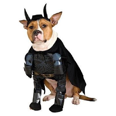 XL dog pet BATMAN dark knight rises Halloween costume FREE SHIPPING