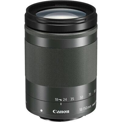 Canon EF-M 18-150mm f/3.5-6.3 IS STM Lens (Graphite) - 1375C002