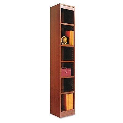 Alera Narrow Profile Square Corner Bookcase - BCS67212MC