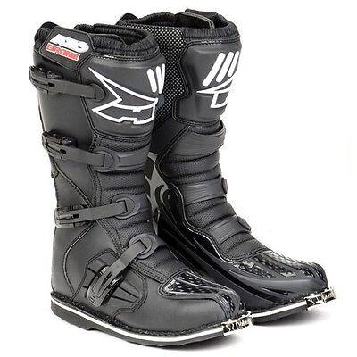 boot moto cross enduro Axo Drone black boots off-road motard motocross