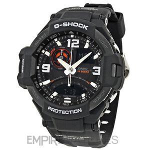 *NEW* CASIO G-SHOCK MENS AVIATION TWIN SENSOR WATCH - GA-1000-1A - RRP £260