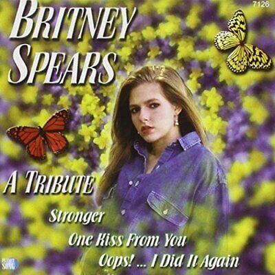 Britney Spears A tribute (2001, performed by Estudio Miami Ritmo)  [CD]