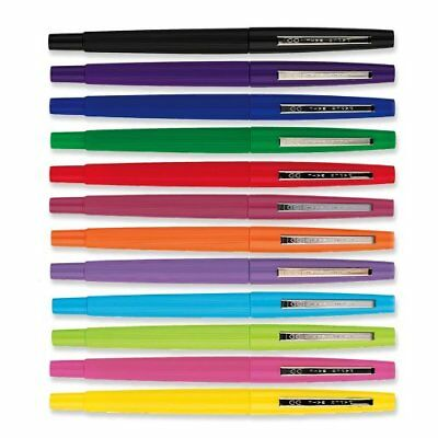 Paper Mate Flair Felt Tip Pen - Medium Pen Point Type - 1.1 Mm Pen Point 74423