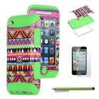 Hard Silicone iPod Touch 4th Generation Case