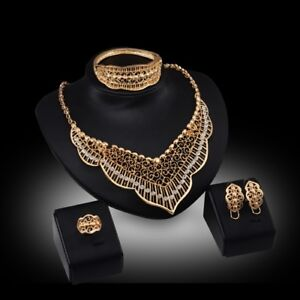 Fine Gold plated Eveening set 100% NEW
