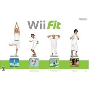 Wii Fit Game and Balance Board with Wii Hip Street 6-in-1 Fitnes