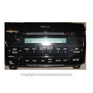 Toyota Tundra/Sequoia Factory Radio Cd Mp3