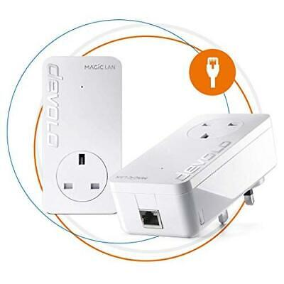 Devolo Magic 2 LAN Ultimate Powerline Starter Kit Up to 2400 Mbps for Your Power