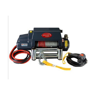 GLF Universal KDS-10.0i 10000lb Pound Electric Recovery Winch Steel Cable Rope