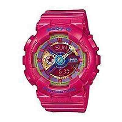 CASIO Baby-G Analogue/Digital Pink Watch