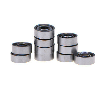 10pcs MR83 3x8x3mm Open Miniature Bearings ball Mini Hand Bearing Spinner ZN