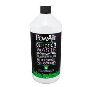 Pow Air Outdoor Compostable Waste Odor, Control Liquid