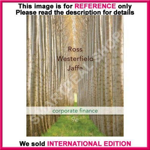 Corporate Finance: Corporate Finance 9th Edition