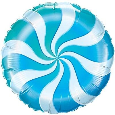 BLUE CANDY CANE SWIRL BIRTHDAY WILLY WONKA PARTY 18