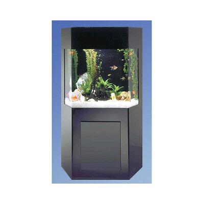 Midwest Tropical Fountain Aqua 50 Gallon Custom Shadow Box Aquarium Kit